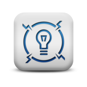 117812-matte-blue-and-white-square-icon-signs-electrical-shock3
